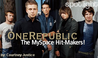 OneRepublic: The MySpace Hit-Makers!
